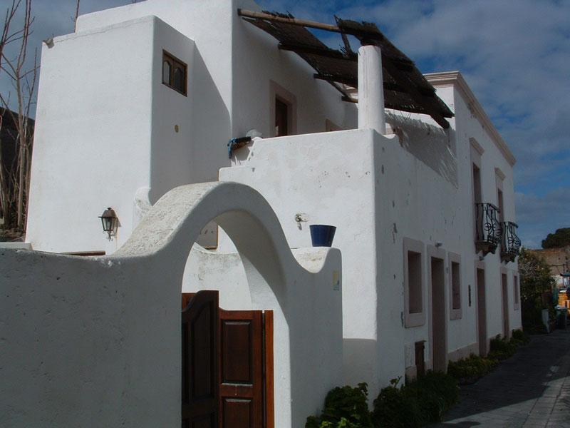 La casa vista da fuori